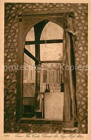 Postkarte Carte Postale 43357136 Cairo Egypt Coptic