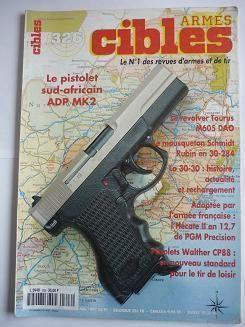 cibles N° 326 : pistolet sudafricain adp