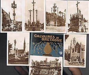 CALVAIRES DE BRETAGNE. Carpeta con 24 fotografías: Fotografía