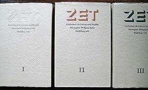 ZET. Zeichenbuch für Literatur und Graphik. Bände: Rothe, Wolfgang (Hrsg.):