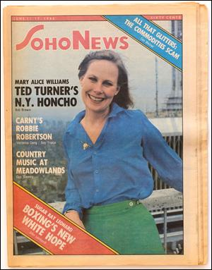 Seller image for SoHo News, Vol. 7, No. 42 (June 11 - 17, 1980) for sale by Specific Object / David Platzker