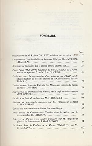 Revue Historique des Armées - 600 ans: Robert Galley, Merlin-Chazelas,