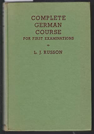 Complete German Course for First Examinations