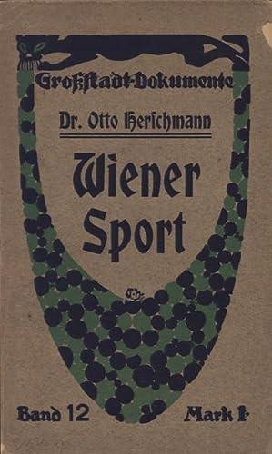 Wiener Sport.: Sport - Herschmann,