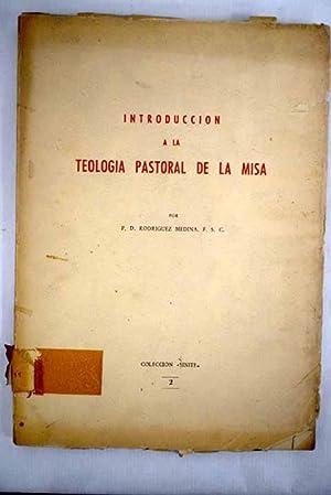 Introducción a la teología pastoral de la: Rodriguez Medina, D.