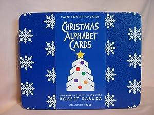 2 BOXES Robert Sabuda Skater Christmas Cards
