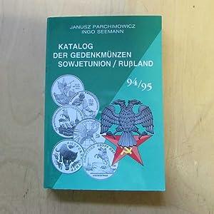 Katalog der Gedenkmünzen Sowjetunion / Russland, 94/95: Parchimowicz, Janusz und