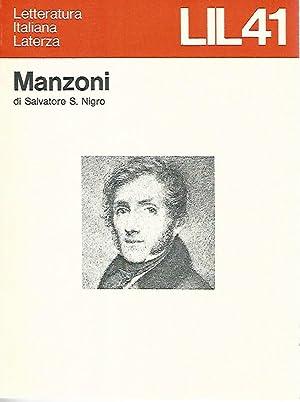 Manzoni: Salvatore S. Nigro