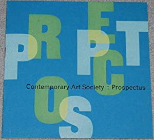 Contemporary Art Society : Prospectus