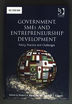 Government, SMEs and Entrepreneurship Development - Policy,: Blackburn, Robert A.