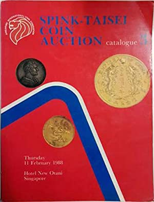 Spink-Taisei Coin Auction. Catalogue 3: Spink