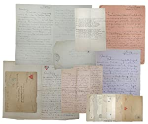 Collection of letters from the front, WWI.