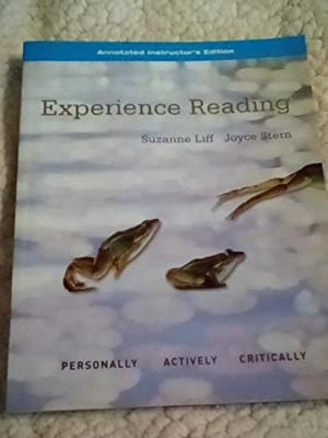 Experience Reading, Book 2 - Annotated Instructor's: Suzanne Liff; Joyce