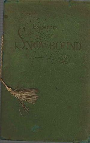 Excerpts from Snowbound a Winter Idyll: Whittier, John Greenleaf