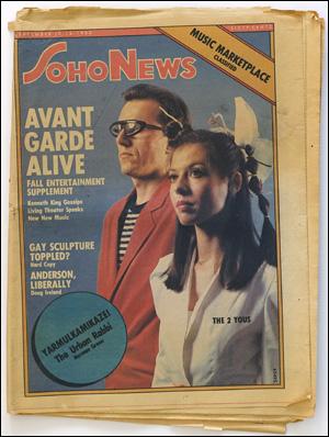 Seller image for SoHo News, Vol. 7, No. 50 (September 10 - 16, 1980) for sale by Specific Object / David Platzker