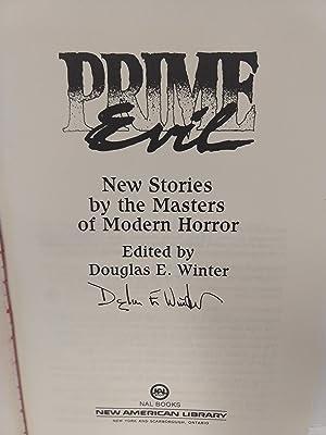 Prime Evil (SIGNED): Winter, Douglas E.