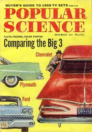 Popular Science Magazine: November 1958