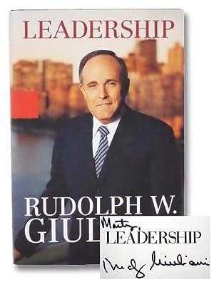 Leadership: Giuliani, Rudolph W.;