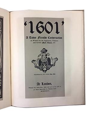 1601' A Tudor Fireside Conversation: Twain, Mark