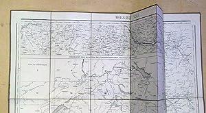 Übersicht der Blätter des topographischen Atlasses der: Dufour, Guillaume-Henri