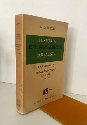 Historia del pensamiento socialista. V. Comunismo y: COLE. G.D.H.