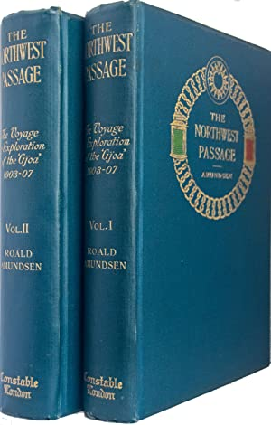"""The North West Passage"""". Being the Record: AMUNDSEN, Roald"""