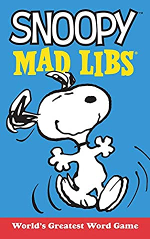 Snoopy Mad Libs (Peanuts): Macchiarola, Laura