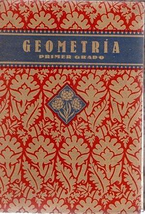 Nociones prácticas de Geometría. Primer grado .