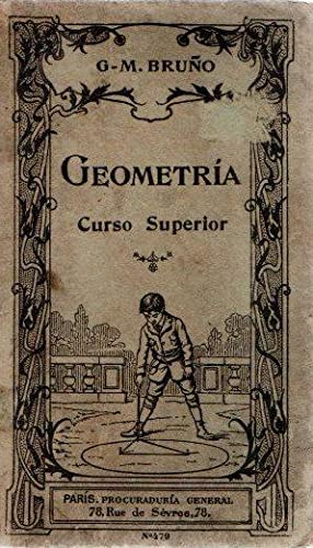 Geometría. Curso superior .: Bruño, G-M.