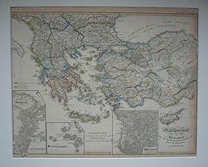 Griechenland und Kleinasien bis zur Eroberung Konstantinopels