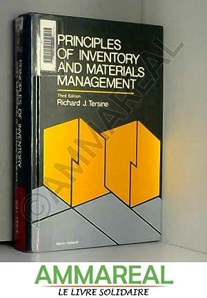 Principles of Inventory and Materials Management: Richard J. Tersine