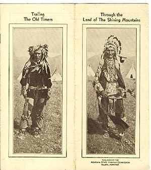 THROUGH THE LAND OF THE SHINING MOUNTAINS/TRAILING: FLETCHER, BOB. [MONTANA