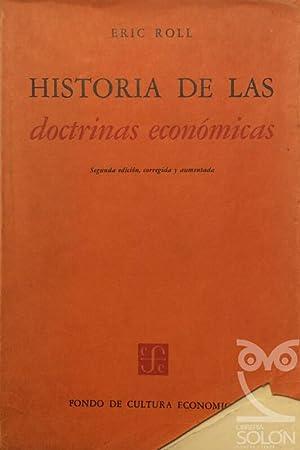 Historia de las doctrinas económicas: Eric Roll