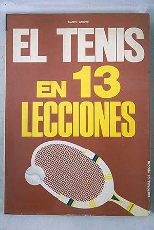 Imagen del vendedor de El tenis en 13 lecciones a la venta por Alcaná Libros
