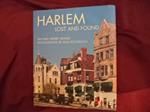 Harlem. Lost and Found. An Architectural and: Adams, Michael Henry.