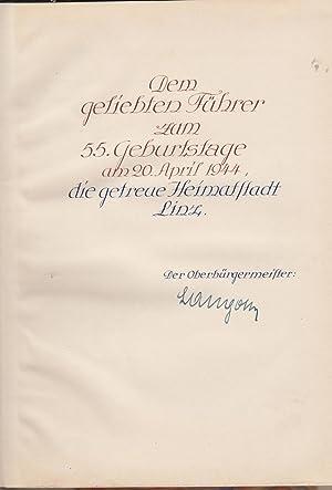 140 [i.e. Hundertvierzig] Jahre Linzer Landestheater, 1803-1943.: Rudolf Lampl (Adolf
