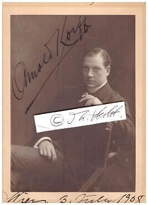 ARNOLD KORFF (1870-1944 N.Y.C.) österreichischer Schauspieler, k.u.k.: ARNOLD KORFF (1870-1944