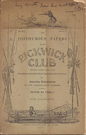 The Posthumous Papers of the Pickwick Club: Dickens, Charles (Boz,