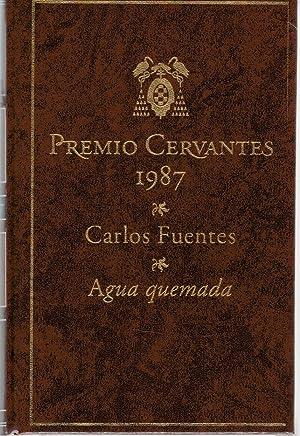 Agua quemada: Carlos Fuentes
