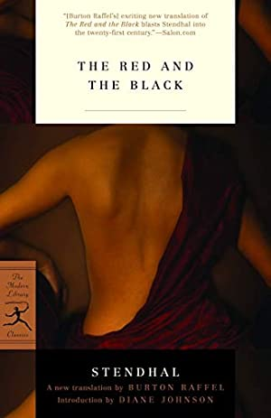 The Red and the Black (Modern Library: Stendhal