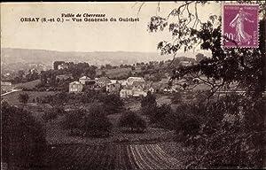 Ansichtskarte / Postkarte Orsay Essonne, Vue generale