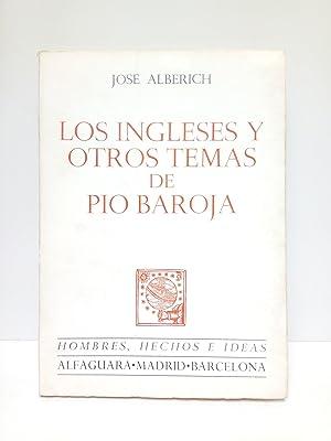 Los ingleses y otros temas de Pío: ALBERICH, José
