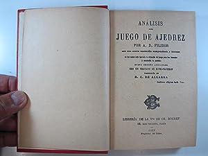 ANALISIS DEL JUEGO DE AJEDREZ: FILIDOR, A. D.