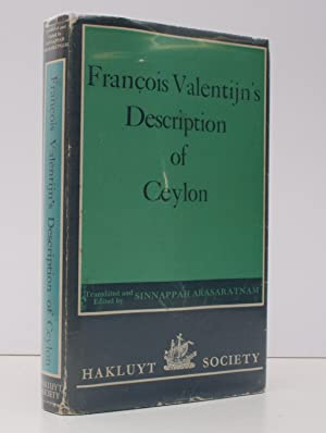 Francois Valentijn's Description of Ceylon. Translated and: Francois VALENTIJN