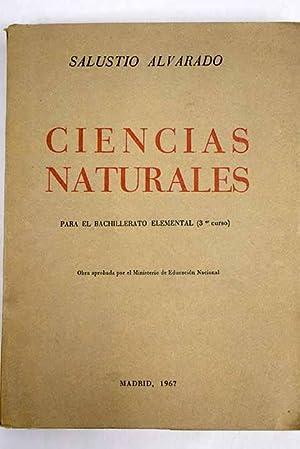 Iniciación en las ciencias naturales: Para el: Alvarado, S.