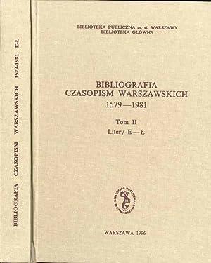 Bibliografia czasopism warszawskich 1579-1981. T.2: E-L: Zawadzki, Konrad