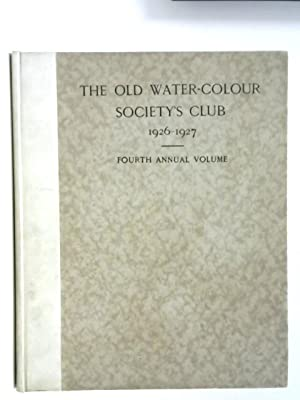 The Old Water-Colour Society's Club 1926-1927 Fourth: Randall Davies