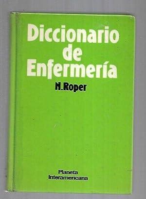 DICCIONARIO DE ENFERMERIA: N. ROPER