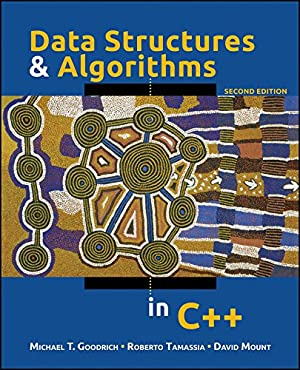 """Data Structures and Algorithms in C++: Goodrich, Michael T."""","""