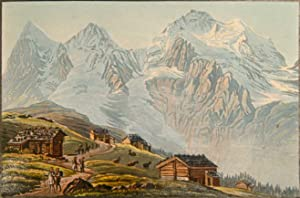 Souvenir de la Suisse. Album mit 50: FUESSLI, Henri